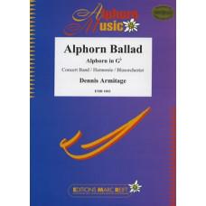 Alphorn Ballade (Solo für Alphorn in Gb)